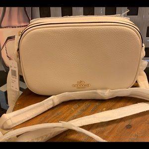Coach Bags - COACH Isla Chain Crossbody Bag Chalk/Light Gold
